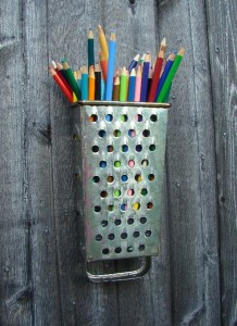 pencil holder handmade